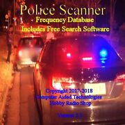 Mr.scanner Single State Frequency Database Cd Police-fire-ems-businesses