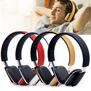 Stereo Bluetooth Headphones Headset Wireless/wired Mode For Pc/cell Phones/tv