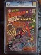 Brave And Bold 61 Cgc Nm 9.4 Ow-w Starman/black Canary
