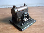 Old Antique Steam Engine Boiler Mechanical Toy Of 40's, Very Rare..