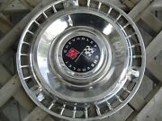 One 1961 61 Chevrolet Chevy Impala Bel Air Nomad Vintage Hubcap Wheel Cover