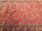 10and0396 X 13and0396 Antique Turkish Oriental Rug - 1930 - Hand Made - 100 Wool