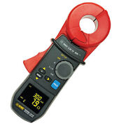 Aemc 6416 2141.01 Clamp-on Ground Resistance Tester W/alarm And Memory