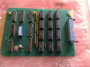 Semitool 14831a-1 Std Bit Output Pcb Card Used Working