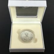 925 Silver Medal Unc Well Beloved H.m.king Bhumibol Rama Ix Thailand Coin