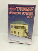 Atlas 2009004 Trainman Switch Tower Kit O Scale Unopened Box