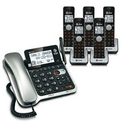 Atandt Cl84502 Corded/cordless Phone System W / High Definition Audio Technology