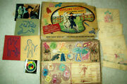 Vintage 1950 Hopalong Cassidy Coloring Outfit In Original Box By Transogram