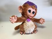 Hasbro Interactive Electronic Furreal Friends Baby Cuddles My Giggly Monkey