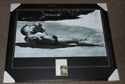 Burt Lancaster Signed Framed 33x41 From Here To Eternity Poster Display