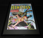 Hawkman 42 Dc Framed 11x17 Cover Poster Display Official Repro
