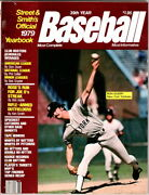Street And Smithand039s Official 1979 Yearbook Ron Guidry Cover