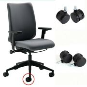 5 X Office Home Chair Caster Wheels Swivel Wood Floor Home Furniture Fitting New