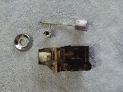 1964-1965 Delco Headlight Switch With Knobnut And Bezel Oem 1995122 8 Pin