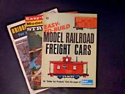 Lot Easy To Build Railroad Structures, Bridges And Buildings For Model Railroads