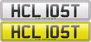 Hcl 105t Classic 1978 1979 Plate Personal Registration Hl Hc Lost 10 St Street