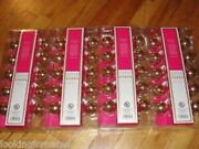 4 Lilly Pulitzer 10 Count Gold Finish Globe String Lights Total Of 40 Lights