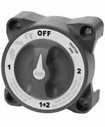 Blue Sea Systems 3003 Hd-series Heavy Duty Selector Battery Switch With Afd