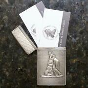 Moritz Furst Early 19th Century Sterling Business Card Holder
