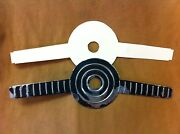 1955 Thunderbird And Ford Horn Ring Original Ribbed Trim Plate And New Gasket