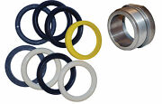 Seal Kit And Packing Nut Set 1-1/2 Fits Western Unimount Angle And Lift Cylinder