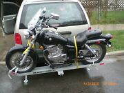 Motorcycle Carriersteelmodular Class 2/2.5 1-1/4sq Recevr Hitch 350 Capac
