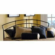 Bowery Hill King Metal Spindle Headboard With Rails In Antique Brown