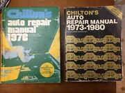 2 Chilton's Auto Repair Manuals 1969-1976 And 1973-1980 For American Cars