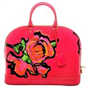 Louis Vuitton Edition Stephen Sprouse Roses Monogram Vernis Alma - By Marc Jacob