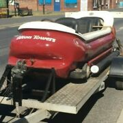 Motorised Alton Towers No. 8 Log Flume Boat With Trailer Idea For Lakes Etc