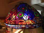 Hand Made Stained Glass Lamp Shade Custom Style
