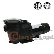 2hp 115-230v 5520gph In/above Ground Swimming Pool Pump Motor Strainer 1500w Us