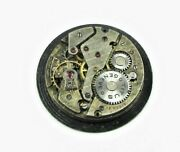 Titus Geneve A.schild 1002 Swiss 15j Manual Wind Watch Movt. For Parts Or Repair