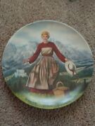 Pair Of Sound Of Music Porcelain Plates