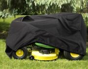Riding Lawn Mower Rain Cover Lawn Tractor Tarp Weather Protection Fly Shade Duck