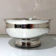 Modern George V Sterling Silver Bowl Birmingham 1928 Liberty And Co