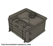 Ho/hon3 Scale Shay Coal Tender For A Mdc Roundhouse Shay