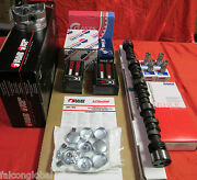 Chevy 5.0 305 Master Engine Kit Pistons+cam 1987-89 Gaskets Bearings Timing Car