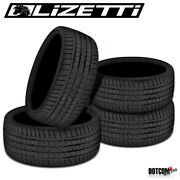 4 X New Lizetti Lz-one 255/25r24 91w Summer Performance Traction Tires