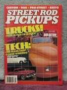Street Rod Pickups Volume 1 From 1991 By The Editors Of Rod Action Mag Vgc