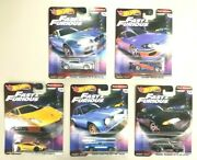 1/64 Hot Wheels Fast And Furious 2019 Set Real Riders Premium Series