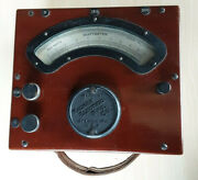 Antique Vintage Wattmeter Wagner Electric Manufacturing Company Used