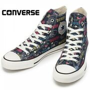 Converse All Star Dumbo Pt Hi Disney Limited Sneakers Menand039s Womenand039s Navy Japan