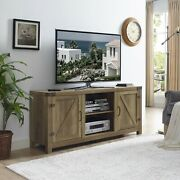 Rustic Vintage Antique Entertainment Center Up To 65 Tv Stand Credenza W Doors