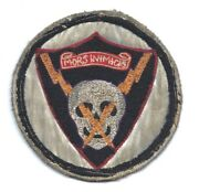 Original Ww2 Wwii Patch - 493th Fighter Squadron 48th Fighter Group 9th Aaf