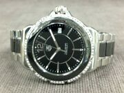 Tag Heurer Womenand039s Formula 1 Diamond Stainless Black Ceramic Watch Msrp 2400