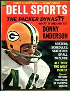 1968 Dell Sports Pro Football Preview September Donny Anderson 50218b26