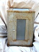 Vtg Galvanized Steel Cricket Cage Insect Carrier Cricket Breeding Cage 11x11x16