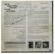 Smothers Brothers Autographed Signed Album Record Lp