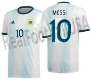 Adidas Lionel Messi Argentina Home Jersey 2019.